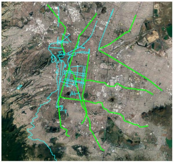 Red de ciclovías emergentes para la CdMx